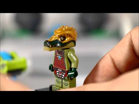 Lego Speedorz Legends of Chima Boulder Bowling Review King Crominus Speedor