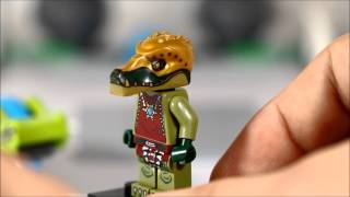 Lego Speedorz Legends of Chima Boulder Bowling Review King Crominus Speedor