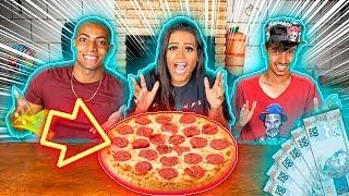 O ÚLTIMO A COMER PIZZA GANHA 1.000 REAIS !!!