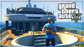 GTA 5 Online Heist Location Gameplay! - Yacht GTA Online Heists DLC - (GTA V Gameplay)