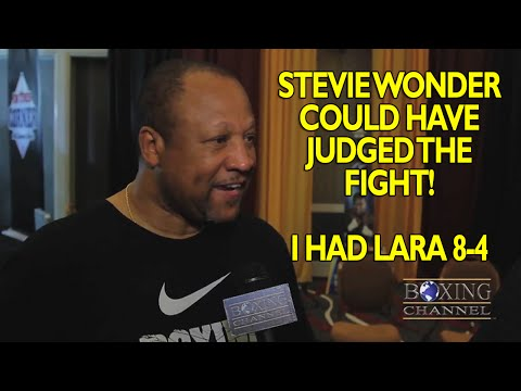 Ronnie Shields says Lara made Canelo miss like a Fcking amateur Judges need to go to school