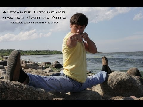Stretching -AL present Martial Arts(MMA)