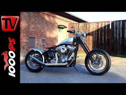 KOTs Kustombikes 1: Harley Umbau von HK Technik