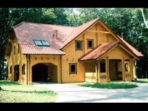 Casas con cerca de madera