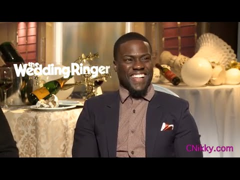 Funny! Kevin Hart Does Impressions w/ Josh Gad for Wedding Ringer
