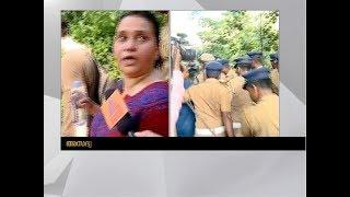 Suhasini Raj's response on Asianet News about attempt to climb Sabarimala