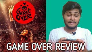 Game Over | Full Movie Review In Hindi | Game Over Full Movie in Hindi | Taapsee Pannu, Anurag |