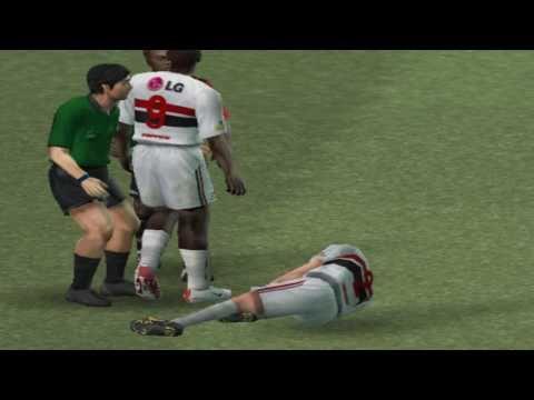 Patch Libertadores Brasileirão 2005 (We8) on PCSX2 0.9.7 - Playstation 2 Emulator
