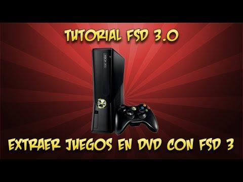 extraer los juegos en dvd con fsd3 0