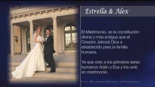 Boda de Estrella & Alex - Introduccion - HD 720p
