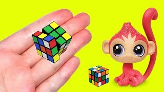 Miss artie craftie viyoutube diy miniature rubiks cube how to make lps crafts lps stuff doll accessories ccuart Choice Image