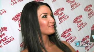 Katrina Bikini Girl Darrell Hosts Hawaiian Tropic Zone; Talks About Relationship With Ryan Seacrest and Playboy Shoot