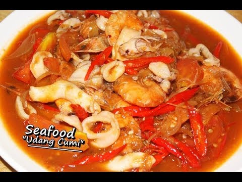 Resep Memasak Seafood Udang Cumi Mudah, Enak dan Lezat ala Zasanah