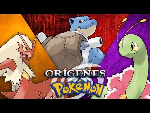 Orígenes Pokémon: Pokémon Iniciales
