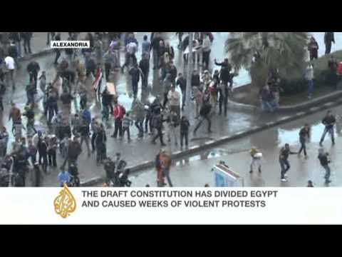 Egypt votes on divisive draft constitution