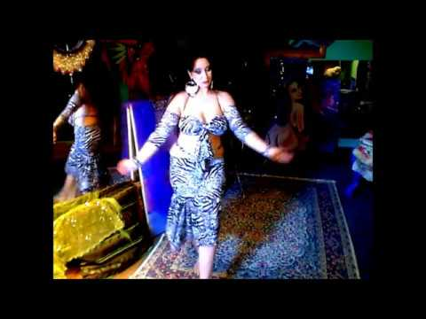 Hot Sexy Belly Dancer Kashmir,animal Print Costume,turkish,middle,eastern Goddess,gypsy, video
