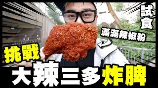 【試食】挑戰『大辣』三多炸脾!試食傳說中香港最正炸脾