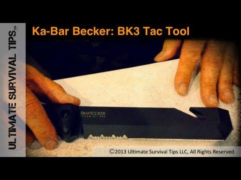 NEW! Ka-Bar Becker BK3 Tac Tool - Tactical Utility Blade - David Interviews Designer Ethan Becker