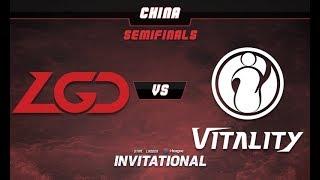 LGD vs iGV Game 1 - SL-i Invitational: CN Qualifier Semifinals -@LuminousInverse @tsunami643