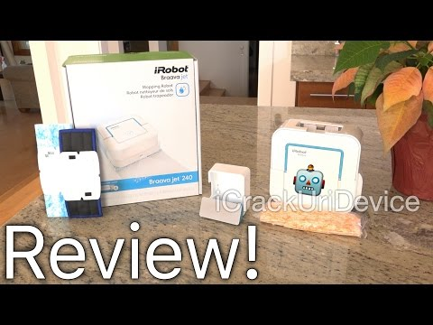 Braava 240 jet Mop (iRobot): Review and Test Unboxing