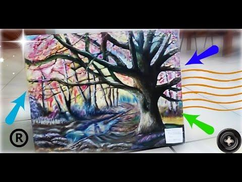 Pintando PAISAJE OTOÑAL | Hugo Tulais | Terry H. | Create Smile