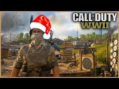 HARVESTING CHRISTMAS NOOBS in Call of Duty WW2