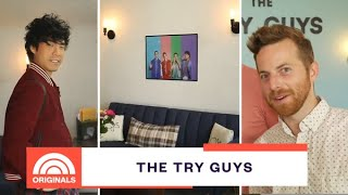 The Try Guys Give Behind-The-Scenes Tour Of Their Studio | At Home With Natalie |  TODAY