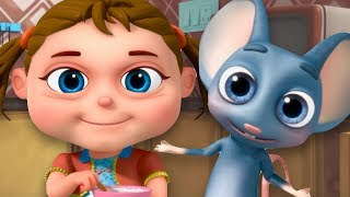 Little Miss Muffet | Nursery Rhymes For Babies | Videogyan 3D Rhymes | Kids Songs