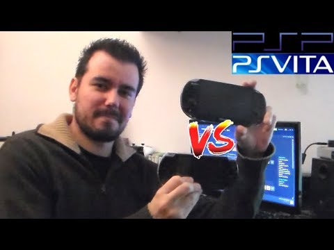 PSP vs PLAYSTATION VITA --- ¿Cuál comprar actualmente? - Español