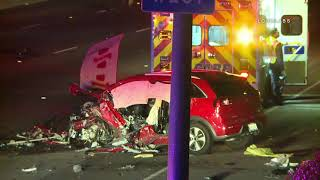 Fatal Wrong Way Driver Crash / Pasadena 9.9.18