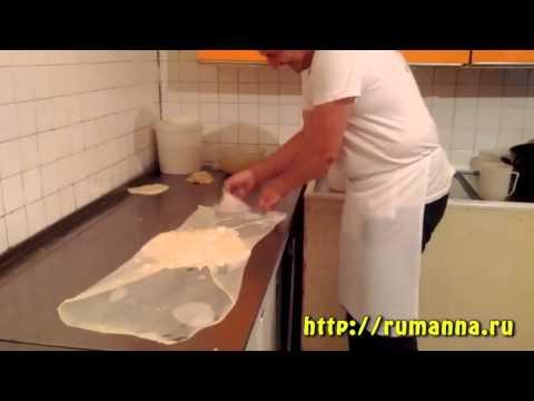 Миджи показывает как готовить буреки (с сыром).