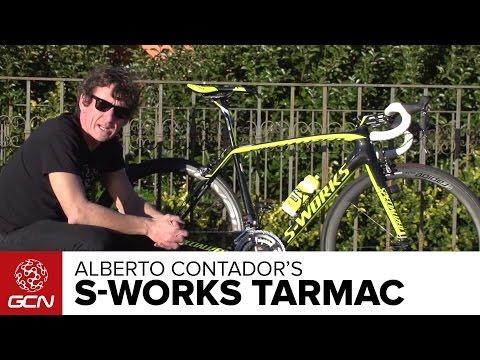 Alberto Contador's Specialized S-Works Tarmac