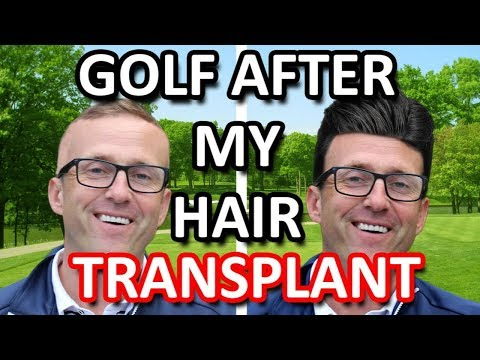my first golf game after my hair transplant ? what could go wrong