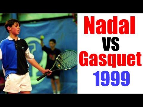 Rafael Nadal vs Richard Gasquet 12 Years Old