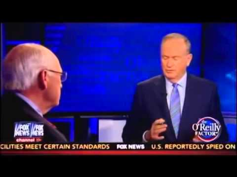 Bill O'Reilly Asks Dick Cheney A Good Question