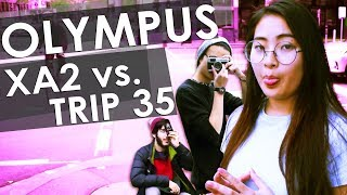 OLYMPUS XA2 vs. TRIP 35 BATTLE! | Olympus 35mm Review