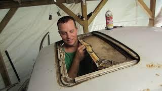 "1965 VW Beetle, ""MISTY"" SUNROOF rebuild part 1"