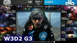TSM vs C9 | Week 3 Day 2 S9 LCS Summer 2019 | TSM vs Cloud 9 W3D2