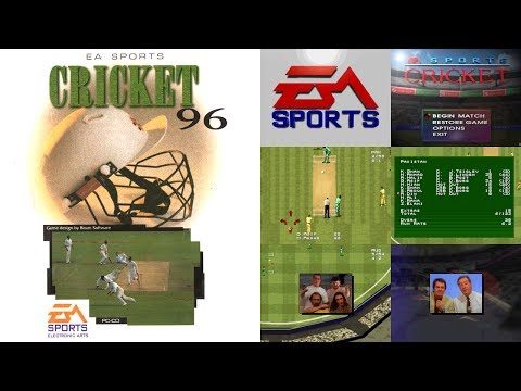 EA Sports Cricket 96 - Gameplay