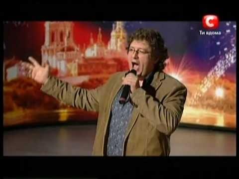 «Україна має талант-3» Киев - Федор Рытиков (пение)