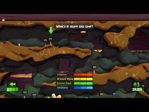 [13] More Strategical Worms (Worms Revolution w/ GaLm and the Derp Crew)