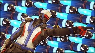 MISSILE STORM HIDE AND GO DIE - Overwatch Custom Game Mode Shenanigans!