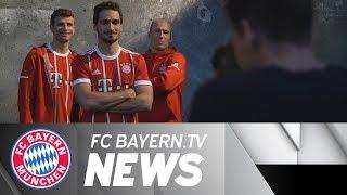 New home jersey for Bayern Munich