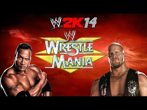 Wwe 2k14- The Rock Vs Stone Cold (wrestlemania Xv)- 30 Years Of Wrestlemania video