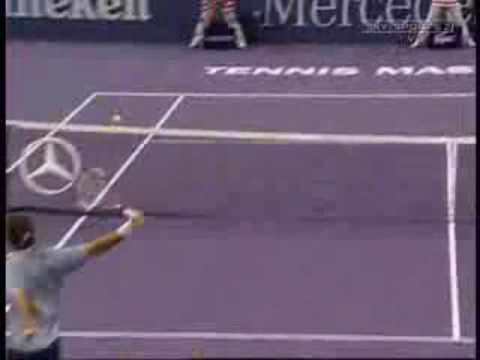 Roger Federer Repertory: The Backhand