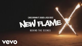 Chris Brown New Flame Behind The Scenes Ft Usher Rick Ross