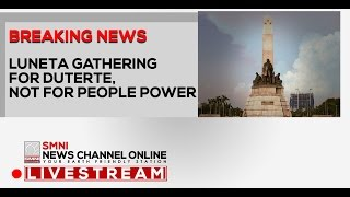 LIVE! LUNETA GATHERING FOR PRES. DUTERTE, NOT FOR PEOPLE POWER FEBRUARY 25, 2017