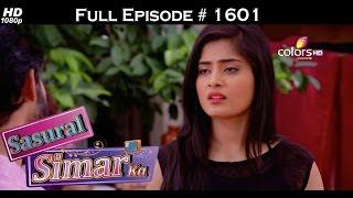 Sasural Simar Ka - 2nd September 2016 - ससुराल सिमर का - Full Episode