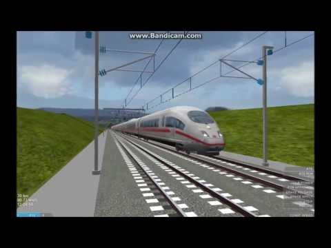 OpenBVE HD EXCLUSIVE: Siemens Velaro ICE 3 Release Video (350 km/h on French LGV Line)