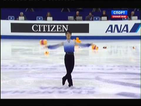 World Figure Skating Championships 2015. SP. Yuzuru HANYU